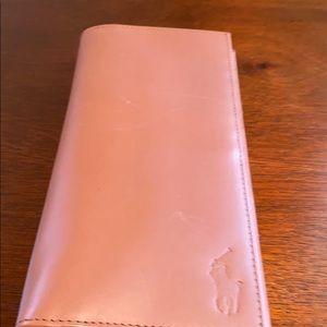 Ralph Lauren checkbook wallet brand new
